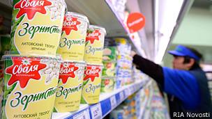 Литовские творог и молоко возвращаются в Россию