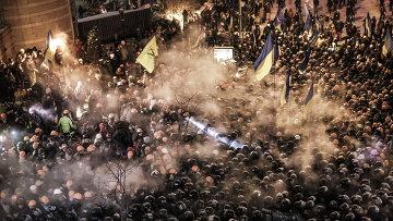 Киевская милиция заявила об изнасиловании женщины на Майдане