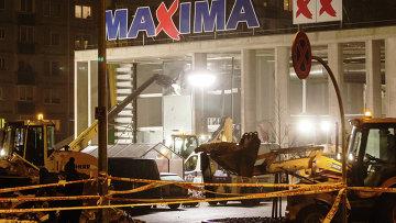 Панихида по жертвам обрушения ТЦ в Риге пройдет в понедельник