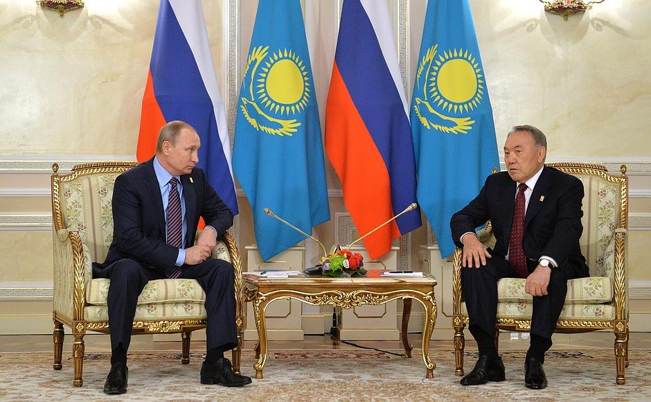 интернет-конфереция с президентом нурсултаном назарбаевым: