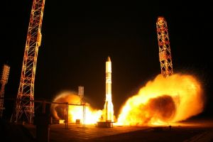 Russia Launches Proton-M Rocket With Eutelsat Communications Satellite