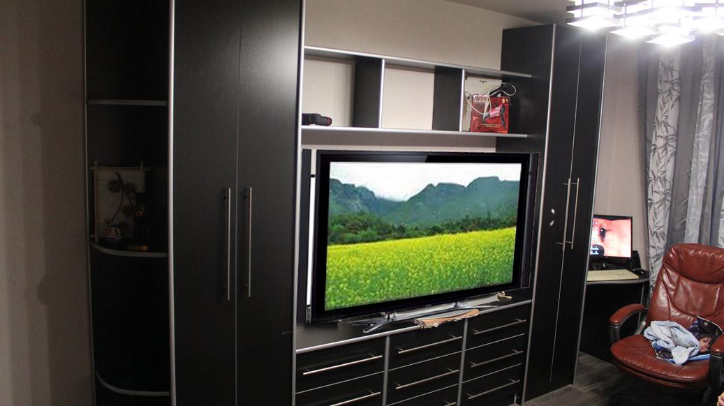 шкафы под телевизор фото